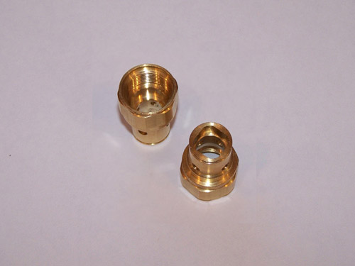 Brass male quick disconnect fittings